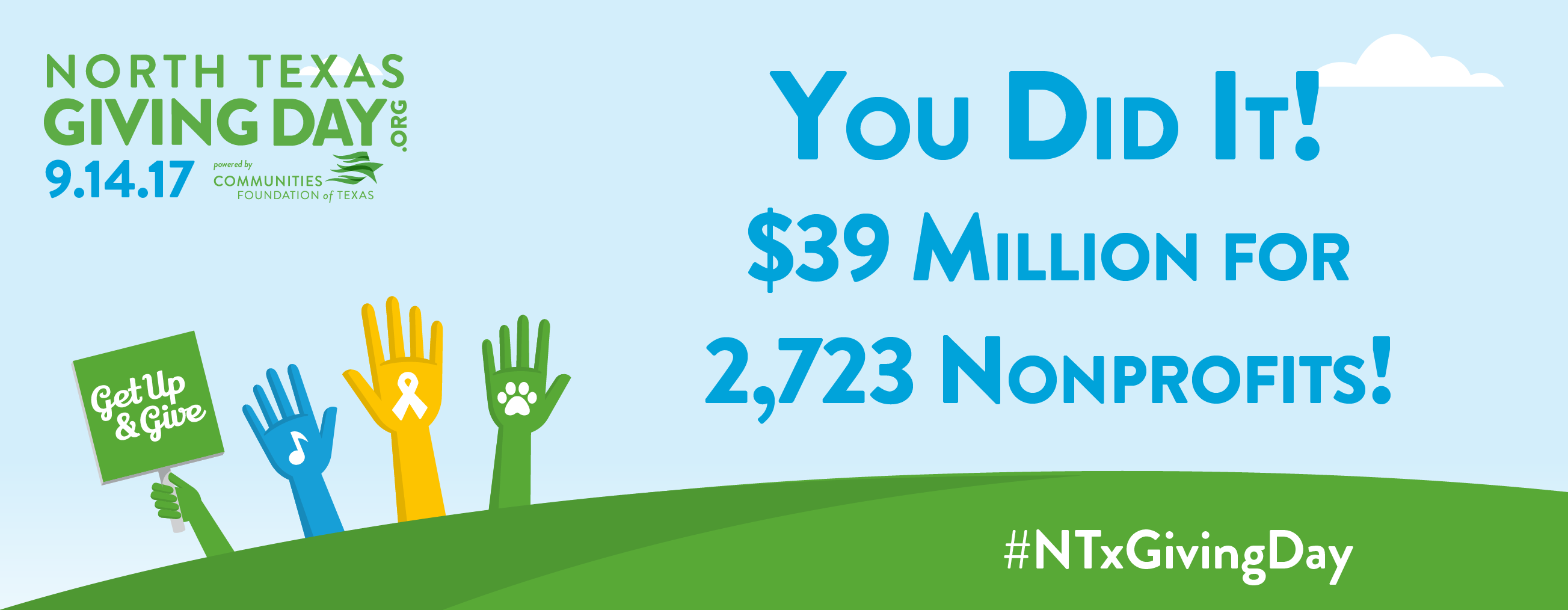 Raising $25,000 on North Texas Giving Day