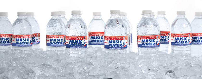 Bottled Water in Ice